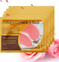 FOREVER YOUTH 10Pcs=5Pair Gold Crystal Collagen Eye Mask