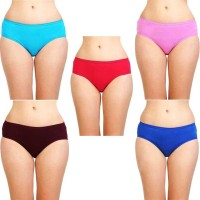 STAR SHINE Women Hipster Multicolor Panty(Pack of 5)