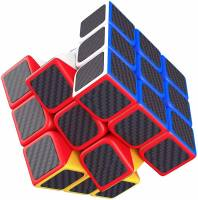 Little Joy High Speed Carbon Fiber Sticker Neon Colors Magic Cube Puzzle Toy