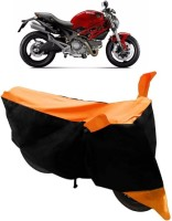 Yuneik Two Wheeler Cover for Ducati(Monster 795, Orange)