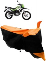 Yuneik Two Wheeler Cover for Hero(Impulse, Orange)