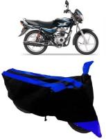 Elegance Two Wheeler Cover for Bajaj(CT 100, Blue)