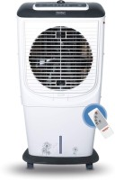Maharaja Whiteline 65 L Room/Personal Air Cooler(White, Black, Hybridcool 65 Remote)