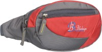blubags W1 Waist Pack Bum Bag for Men and Women Polyester(Red)