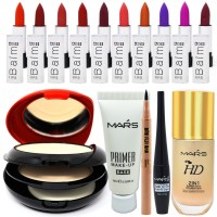 Adbeni Valuable Makeup Combo For All, Set of 15, GC 1075