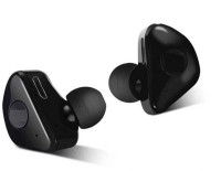 Rhobos Free X2 True Wireless Earbuds(TWS), Bluetooth V5.0 Bluetooth Headset with Mic(Black, In the Ear)