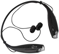Rhobos Stylish and more comfortable design Bluetooth Headset with Mic(Black, In the Ear)