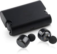 Cospex v4.2 Small in size & comfortable Bluetooth Headset with Mic(Black, In the Ear)