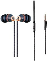 Rhobos DrumGold Noise Free calling 3.5mm Jack Earphone. Wired Headset with Mic(Multicolor, In the Ear)