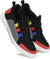 World Wear Footwear-9096 Exclusive Range of Sports Running Shoes For Men (Black)