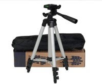 Fox 3110 Tripod Stand with mobile holder and carry bag Tripod, Monopod Kit, Tripod Ball Head, Tripod Kit, Monopod(Metal, Supports Up to 1500 g)