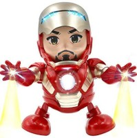 Toy Iron Man Dance Hero Action Figure Robot (Multicolor)