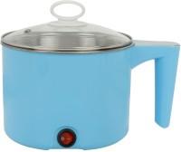 FLYNGO 1.5 Liter Electric Cooker Multi Function Cooking Pot Rice Steamer Egg Boiling Dumpling Soup Noodles Pasta Making Portable Cooker for Travelling Travel Cooker(1.5 L, Blue)