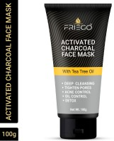 Friego Charcoal Face Mask/Pack|Anti Pollution|Deep Cleansing(100 g)