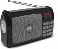 Amkette Trubeats Pocket FM Radio(Black)