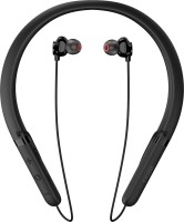 Noise Tune CHARGE Neckband Bluetooth Headset(Jet Black, In the Ear)