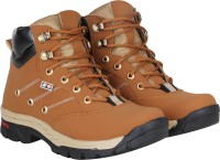 Kraasa Climber Boots For Men(Tan)