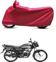 Bikenwear Two Wheeler Cover for Honda(Victor GLX, Pink)