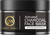 Nuerma Science Pure Clay Charcoal Face Mask for Dull Skin to Detox & Brighten Skin (Pack of 1)(100 ml)