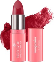 BIOTIQUE Magicolor Lipstick, Fire Me Up(Fire Me Up, 4.2 g)