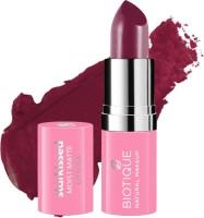 BIOTIQUE Starkissed Moist Matte Lipstick, Peony Pink(Peony Pink, 4.2 g)