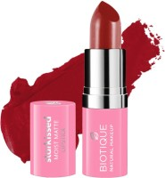 BIOTIQUE Starkissed Moist Matte Lipstick, Bad Little Thing(Bad Little Thing, 4.2 g)