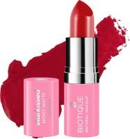 BIOTIQUE Starkissed Moist Matte Lipstick, Kiss Of Love(Kiss Of Love, 4.2 g)