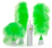 Empire Mart Go Duster Wet and Dry Duster Wet and Dry Duster,Hand-Held, Sward Go Dust Electric Feather Spin Home Duster, Green. Electronic Motorised Cleaning Brush Set,Home Duster, Medium, Multicolour,Electronic Motorised Cleaning Brush Set. Wet and Dry Duster Set(Pack of 3)