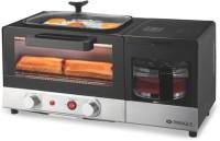 PRINGLE 9-Litre BM 3000 3-in-1 Breakfast Maker Toaster Oven. Bake, Boil and Roast Oven Toaster Grill (OTG)(Black)