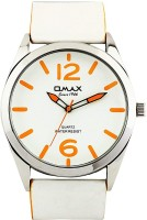 Omax TS429_WHITE  Analog Watch For Couple
