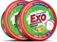 Exo Touch & Shine Round Dishwash Bar(1.4 kg, Pack of 2)