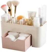 COOZICO Drawer Type Storage Box Cosmetic Plastic Household Multifunctional Jewelry Office Desk MAKEUP, JWELLERY Vanity Box Organizer Vanity Box Cosmetic Vanity Box(Multicolor)