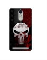 Casotec Skull Design 3D Printed Hard Back Case Cover for Lenovo K5 Note