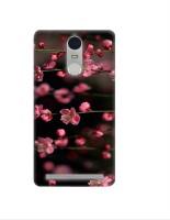 Casotec Pink Flowers Design 3D Printed Hard Back Case Cover for Lenovo K5 Note
