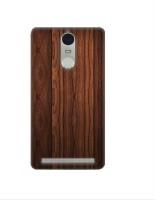Casotec Wooden Texture Design 3D Printed Hard Back Case Cover for Lenovo K5 Note