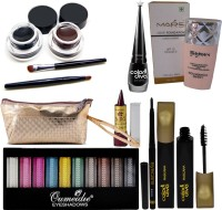 Mars Long Lasting Foundation, Eyeliner With Beauty Product Set of 6 GCI811