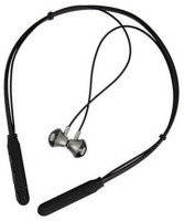 blueseed Extra Bass calls controls Noise Cancelling Stereo Sport Bluetooth Headset with Mic(Black, In the Ear)