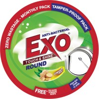 Exo Touch & Shine Round Dishwash Bar(500 g)