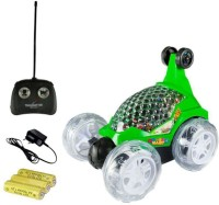himanshu tex Remote Controlled Stunt Car, Radio-Controlled Rechargeable Vehicle All Around Dancers Kids Stunt Car Toy(Multicolor)