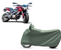 High Quality Two Wheeler Cover for Bajaj(Pulsar 200 NS DTS-i, Green)