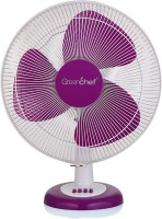 Greenchef ALFA 400 mm 3 Blade Table Fan(Purple, Pack of 1)