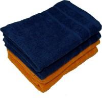 NANDAN COZY Cotton 300 GSM Hand Towel Set(Pack of 4)