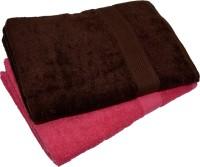 NANDAN GEMS Cotton 380 GSM Bath Towel Set(Pack of 2)