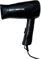 Perfect Nova (Device Of Man) PN-113-Black Silky Shine Hot And Cold Foldable Hair Dryer(650 W, Black)