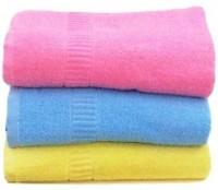 VANILLA Cotton 550 GSM Hair, Sport, Beach, Bath Towel Set(Pack of 3)