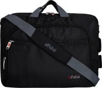 alfisha Men & Women Black Messenger Bag