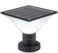 HARDOLL Solar Lights for Outdoor Home Garden 20 LED Waterproof Pillar Wall Gate Post Lamp(Multiple Color) Solar Light Set(Floor Mounted Pack of 1)