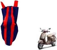 WolkomHome Two Wheeler Cover for Piaggio(Piaggio Vespa, Red, Blue)
