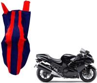 WolkomHome Two Wheeler Cover for Kawasaki(Ninja, Red, Blue)