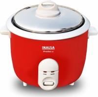 Inalsa Precise Electric Rice Cooker(1.5 L, Red, White, Silver)
